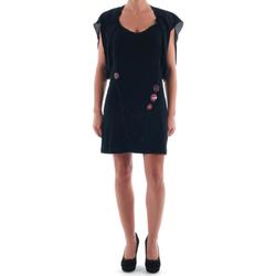 vaatteet Naiset Lyhyt mekko Nolita NOL03256 Negro