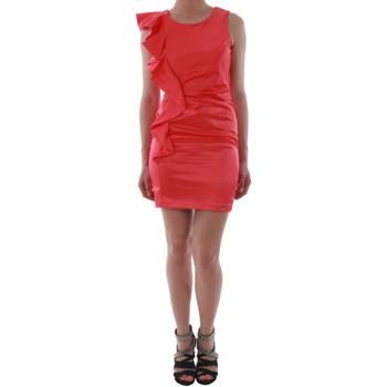 vaatteet Naiset Lyhyt mekko Rinascimento 2045/16_CORALLO_ROSSO Coral