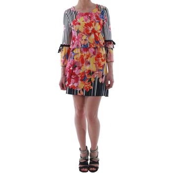 vaatteet Naiset Lyhyt mekko Rinascimento 1330/13A_BIANCO Estampado