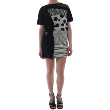 vaatteet Naiset Lyhyt mekko Rinascimento 82024_NERO Negro