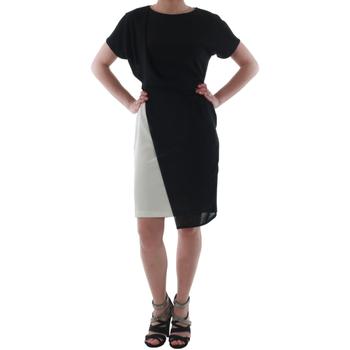 vaatteet Naiset Lyhyt mekko Rinascimento MIRANDA_BIANCO Negro