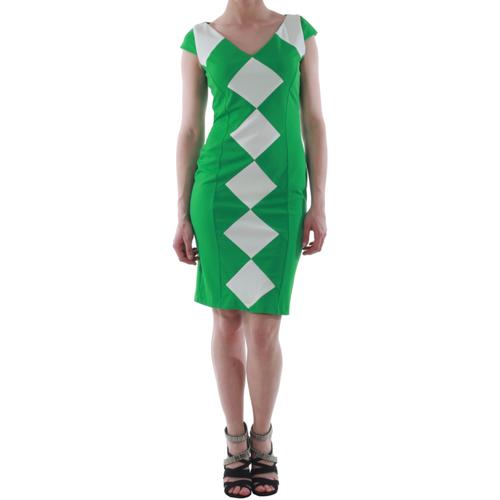 vaatteet Naiset Lyhyt mekko Rinascimento 241012/VERDE Verde