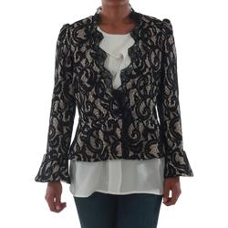 vaatteet Naiset Takit / Bleiserit Rinascimento 7643_BEIGE Negro