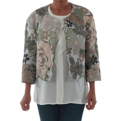 vaatteet Naiset Takit / Bleiserit Rinascimento 82012_VERDE Verde