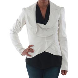 vaatteet Naiset Takit / Bleiserit Rinascimento 7690_BIANCO Blanco
