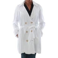 vaatteet Naiset Trenssitakki Rinascimento 7540_BLANCO Blanco