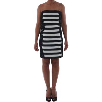 vaatteet Naiset Lyhyt mekko Rinascimento 322B.012_BIANCO Negro