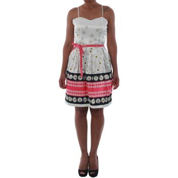 vaatteet Naiset Lyhyt mekko Rinascimento 1384/16M_FUXIA Blanco