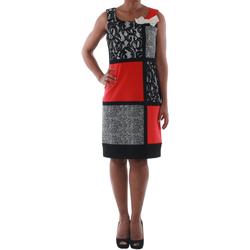 vaatteet Naiset Lyhyt mekko Rinascimento 7616A/B_CORALLO Negro