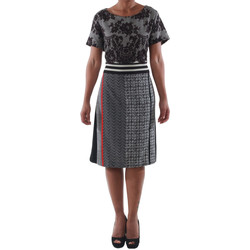 vaatteet Naiset Lyhyt mekko Rinascimento 9208/C_NERO Negro