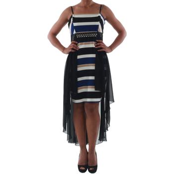 vaatteet Naiset Lyhyt mekko Rinascimento PAINT/R_BLU Negro