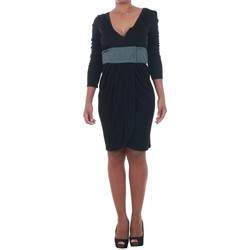 vaatteet Naiset Lyhyt mekko Silvian Heach SIL13565 Negro