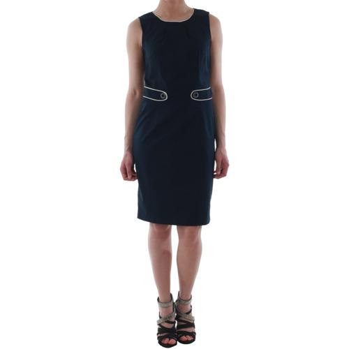 vaatteet Naiset Lyhyt mekko Sz Collection Woman WYQ_1243_NAVY Azul marino