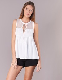 vaatteet Naiset Topit / Puserot Volcom SEA Y'AROUND TOP White