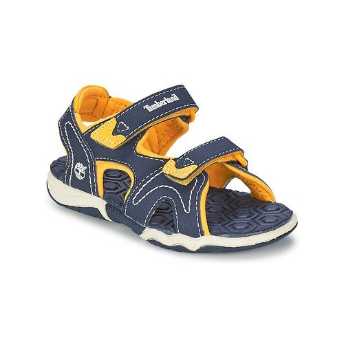kengät Lapset Sandaalit ja avokkaat Timberland ADVENTURE SEEKER 2-STRAP SANDAL Blue