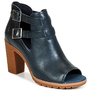 kengät Naiset Nilkkurit Timberland EARTHKEEPERS® GLANCY PEEP TOE Blue / Yö