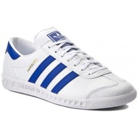 kengät Miehet Matalavartiset tennarit adidas Originals HAMBURG BY9758 BLANCO