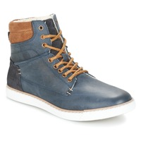 kengät Pojat Korkeavartiset tennarit Bullboxer  Blue / Camel