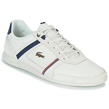 kengät Miehet Matalavartiset tennarit Lacoste MENERVA 118 1 White