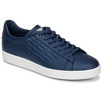 kengät Miehet Matalavartiset tennarit Emporio Armani EA7 CLASSIC U Blue