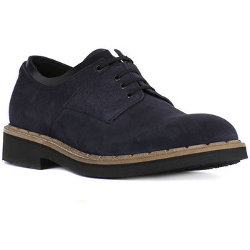 kengät Miehet Derby-kengät Eveet CAMOSCIO BLU Blu