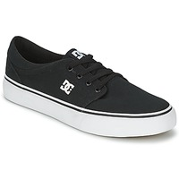 kengät Miehet Matalavartiset tennarit DC Shoes TRASE TX MEN Black / White