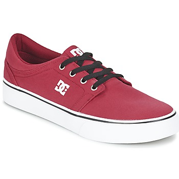 kengät Miehet Matalavartiset tennarit DC Shoes TRASE TX MEN Red / Black