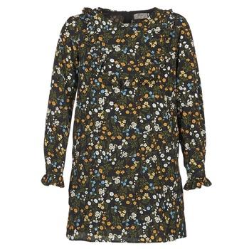 vaatteet Naiset Lyhyt mekko Betty London HOTU Black / Monivärinen