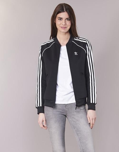 vaatteet Naiset Ulkoilutakki adidas Originals SST TT Musta