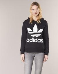 vaatteet Naiset Svetari adidas Originals TREFOIL HOODIE Black