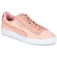 kengät Naiset Matalavartiset tennarit Puma BASKET SATIN EP WN'S Pink
