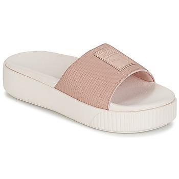 kengät Naiset Sandaalit Puma PLATFORM SLIDE WNS EP Pink