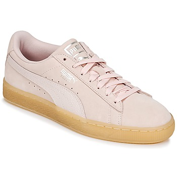 kengät Naiset Matalavartiset tennarit Puma SUEDE CLASSIC BUBBLE W'S Pink