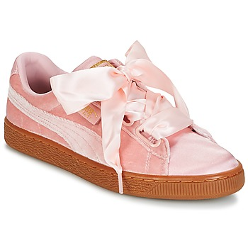 kengät Naiset Matalavartiset tennarit Puma BASKET HEART VS W'N Pink