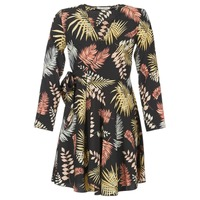 vaatteet Naiset Lyhyt mekko Betty London HYPO Black / Monivärinen