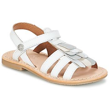 kengät Tytöt Sandaalit ja avokkaat Aster CORELLE White