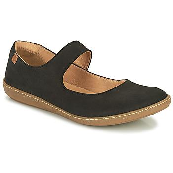 kengät Naiset Balleriinat El Naturalista CORAL Black
