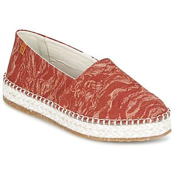 kengät Naiset Espadrillot El Naturalista SEAWEED CANVAS Red / Orange