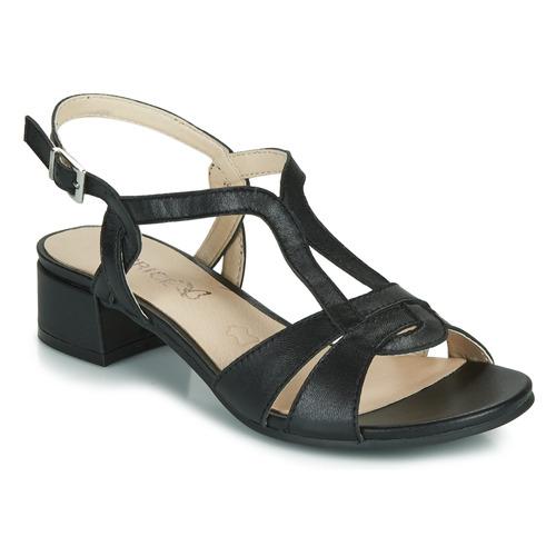 kengät Naiset Sandaalit ja avokkaat Caprice SATIBO Black