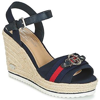 kengät Naiset Sandaalit ja avokkaat Tom Tailor CRYSTYA Laivastonsininen