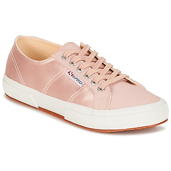 kengät Naiset Matalavartiset tennarit Superga 2750 SATIN W Pink