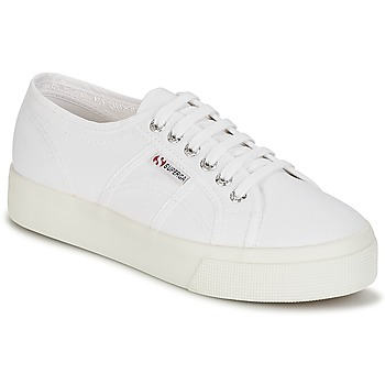 kengät Naiset Matalavartiset tennarit Superga 2730 COTU White