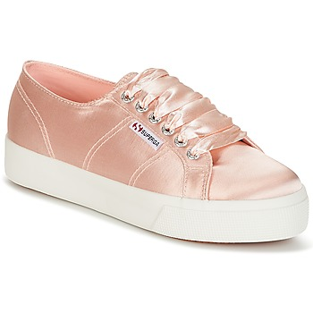 kengät Naiset Matalavartiset tennarit Superga 2730 SATIN W Pink