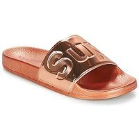kengät Naiset Sandaalit Superga 1908 PUNE TU Pink / Kulta