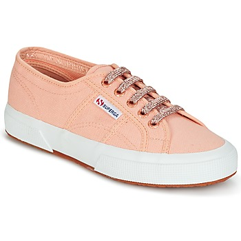 kengät Naiset Matalavartiset tennarit Superga 2750 CLASSIC SUPER GIRL EXCLUSIVE Pink