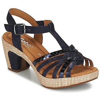 kengät Naiset Sandaalit ja avokkaat Gabor MASTIAR Laivastonsininen