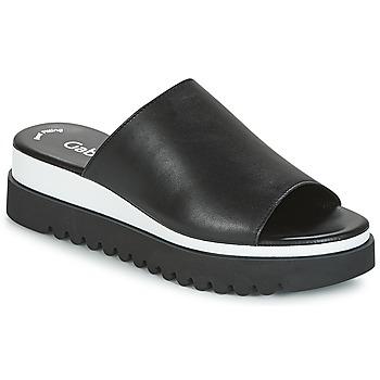 kengät Naiset Sandaalit Gabor SORIEUX Black / White