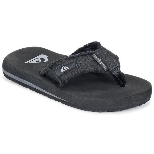 kengät Lapset Varvassandaalit Quiksilver MONKEY ABYSS YT B SNDL XKKC Black