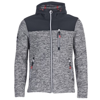 vaatteet Miehet Svetari Superdry STORM MOUNTAIN ZIPHOOD Grey