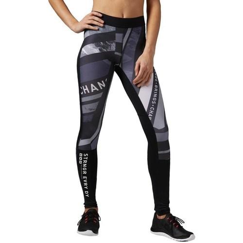 vaatteet Naiset Legginsit Reebok Sport One Series Tight Valkoiset, Mustat, Harmaat